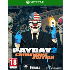 Payday 2 Crimewave Edition with Loot Bag DLC Xbox One