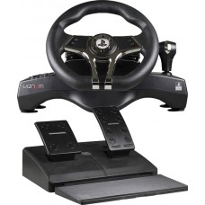 Officially Licensed Hurricane Steering Wheel and Pedals for Sony PS3 and PS4