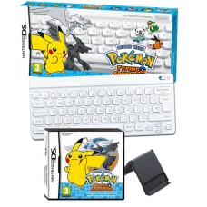 Pokemon Typing Adventure with Blutooth Wireless Keyboard Nintendo DS Game