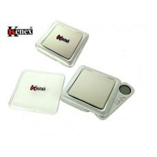 Kenex Professional Digital Pocket Scale Silver (ECL550SL)