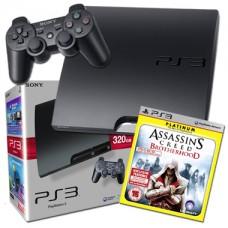 Sony PS3 320GB Console + Assassins Creed Brotherhood Platinum