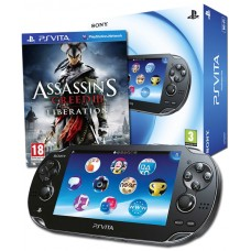 PS Vita Slim Assassins Creed III Liberation Bundle