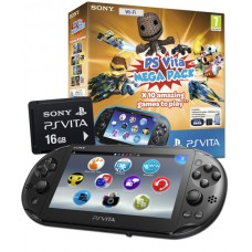 PS Vita WiFi Only Console with 10 game Mega Pack on 16GB Memory Card