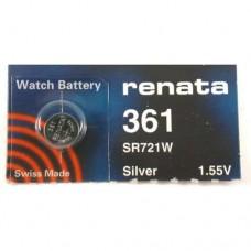 Renata Watch Battery 361 - Pack of 10 (SR721W)