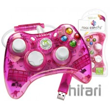 Rock Candy Controller - Pink (Microsoft Licensed) (Xbox360)