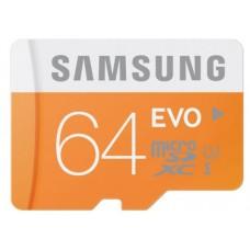 Samsung 64GB Micro-SD HC UHC Class 10 Evo Flash Card Memory Card