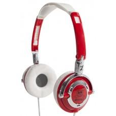Sansui EF3 Stereo Headphones Red