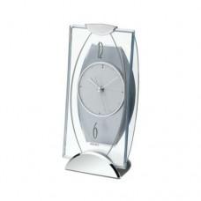 Seiko Mantel Alarm Clock, Silver (QXG103S)
