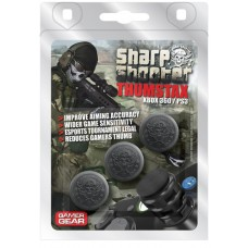 Sharpshooter Classic Black Multi-stackable Analogue Extenders Xbox 360 / PS3