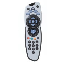 SKY Plus Remote Control with Duracell Battery and Manual (Model No. Sky SKY111)
