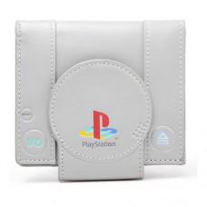 SONY PlayStation One Console Bi-Fold Wallet Grey (MW128823SNY)