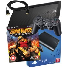 Sony PS3 12GB Console + HDMI Cable + Duke Nukem Forever PS3 Bundle