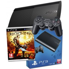 PS3 500GB UK Black Console + Kingdoms of Amalur Reckoning PS3