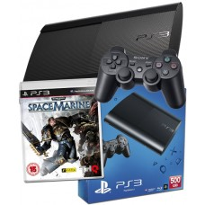 PS3 500GB UK Black Console + Space Marine Special Edition PS3