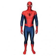Marvel Comics Spider-Man Adult Unisex Cosplay Costume Morphsuit - X Large - Multi-Colour (MLSPMX-XL)