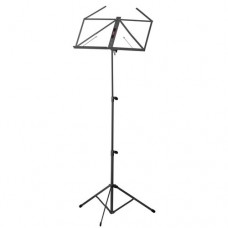 Stagg 3 Sections Music Stand - Black (MUSA3BK)