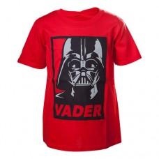 Star Wars Kids Unisex Darth Vader Framed T-Shirt 110/116 Red TSY19602STW-110/116