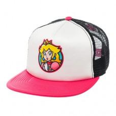 Nintendo Super Mario Bros. Princess Peach Trucker Snapback Baseball Cap One Size