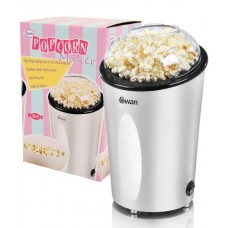 Swan Popcorn Maker Preparation Without Oil 900W - Silver (Model No. SF14010N)