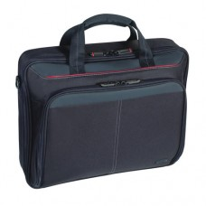 Targus Classic Clamshell Laptop Bag/Case fits 15.6 Inch Laptops - Black