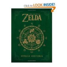 The Legend of Zelda Hyrule Historia Hardcover Guide Book