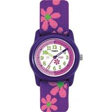 Timex Kids Time Teacher Flower Strap Watch (T890224E)