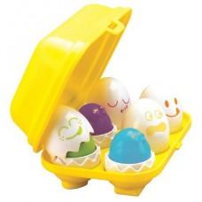 TOMY Play to Learn Hide 'n' Squeak Eggs (Model No.  Tomy 1581)