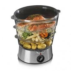 Tower 3-Tier Food Steamer (Model No. T21001)