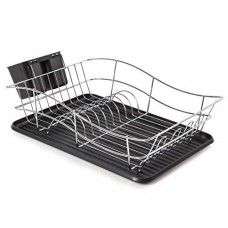 Tower Dish Rack with Black Tray (Model No. T81400)