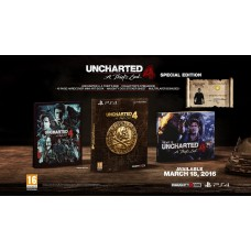 Uncharted 4 A Thiefs End Special Edition PS4 Game