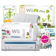 Wii Console and Wii Fit Plus with Balance Board over 150s