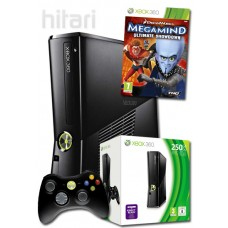 Xbox 360 Console 250GB with Megamind Ultimate Showdown Xbox 360