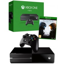 Xbox One 1TB Console with Halo 5 Game Bundle