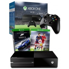 Xbox One 500GB Console with FIFA 16 and Forza 6 Games Bundle