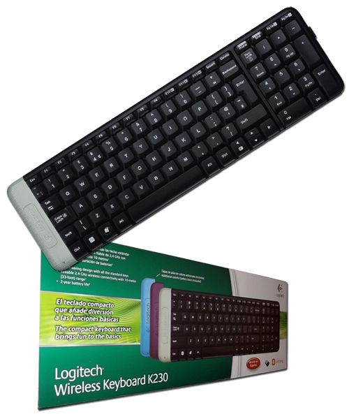 how to connect logitech wireless keyboard without receiver