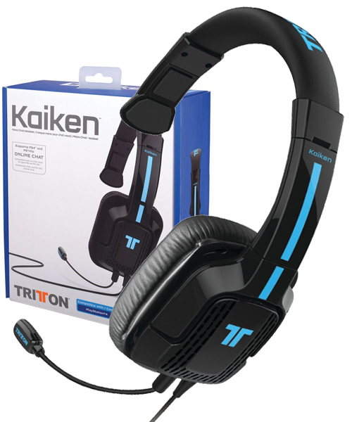 tritton kaiken mono chat headset ps4 ps vita psp and mobile devices new ebay. Black Bedroom Furniture Sets. Home Design Ideas