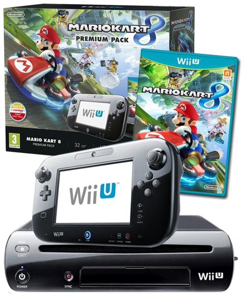 Nintendo wii u console mario kart 8 premium pack bundle - Wii console mario kart bundle ...