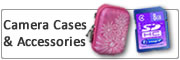 Camera Cases, Photo Memory Cards and Accessories
