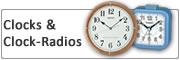 Clocks and clock radios