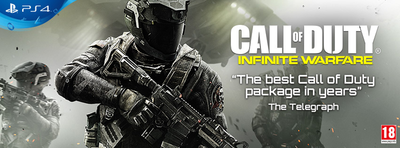 COD infinite warfare online banner